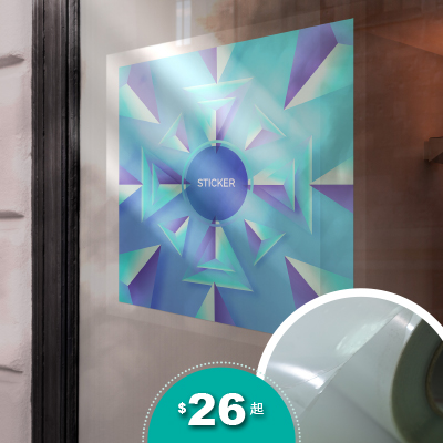 玻璃透明貼紙